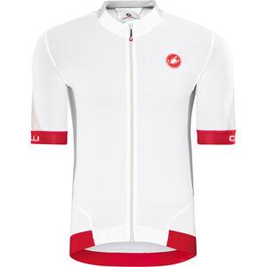 Castelli Volata 2 FZ Jersey Herren white/red white/red