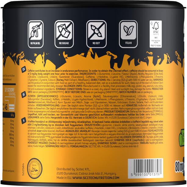 SCITEC Essential Amino & Caffeine Workout Pulver 300g Apfel