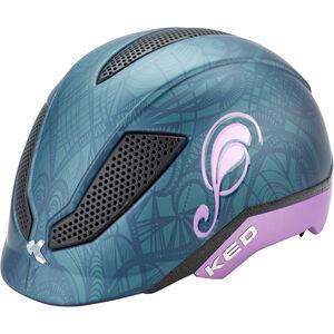 KED Pina Helmet Kinder nightblue matt nightblue matt