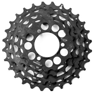 e*thirteen Steel Sprockets für TRS+ Kassette 10/11-fach black black