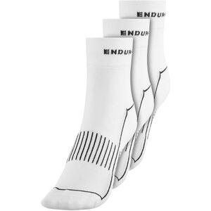 Endura Coolmax Race II Socks TriplePack white white