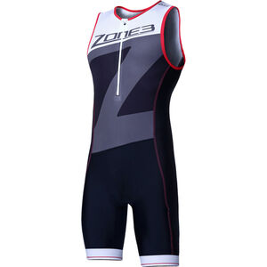 Zone3 Lava Long Distance Trisuit Herren black/red/white black/red/white