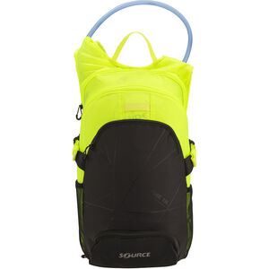 SOURCE Fuse Trinkrucksack 3+9l black/florescent yellow black/florescent yellow