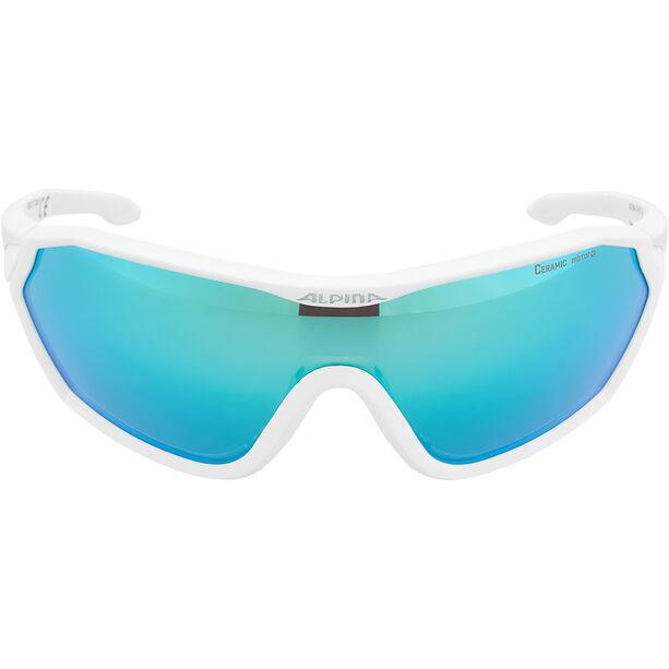 Alpina S-Way CM+ Glasses white matt