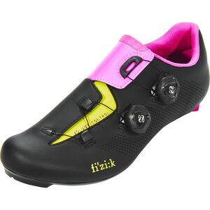 Fizik Aria R3 Rennradschuhe schwarz/pink/gelb fluo schwarz/pink/gelb fluo