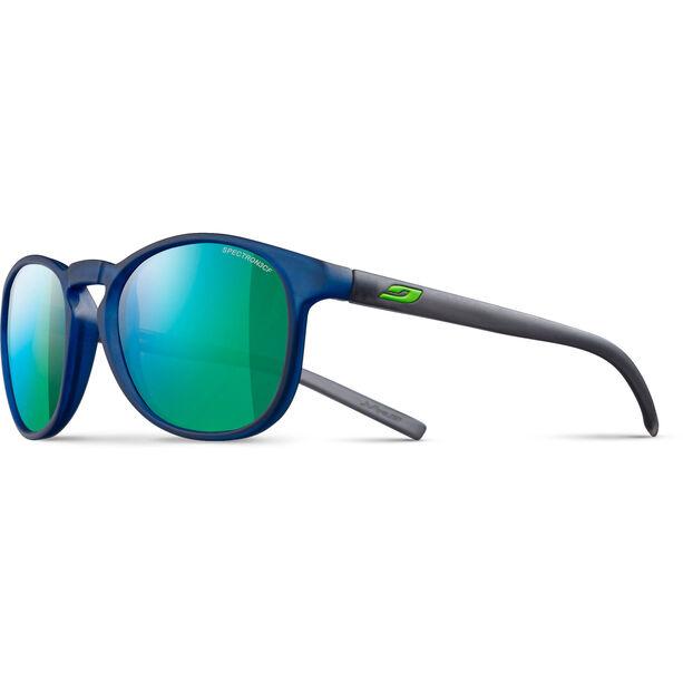 Julbo Fame Spectron 3CF Sonnenbrille 10-15Y Kinder matt translucent blue-multilayer green
