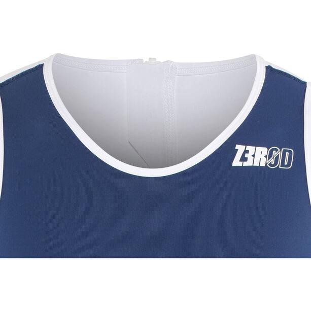 Z3R0D Racer Trisuit Herren dark blue/white