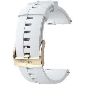 Suunto Athletic 4 Silicone Strap 24mm white/gold