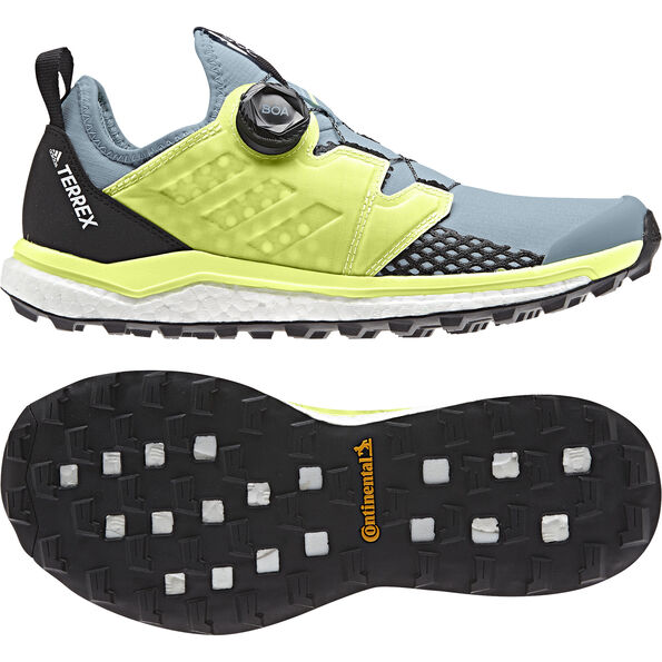 adidas TERREX Agravic Boa Schuhe Damen ash grey/solar yellow/core black