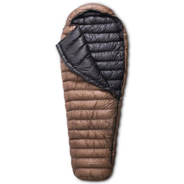 Yeti Passion Three Sleeping Bag L brown/black
