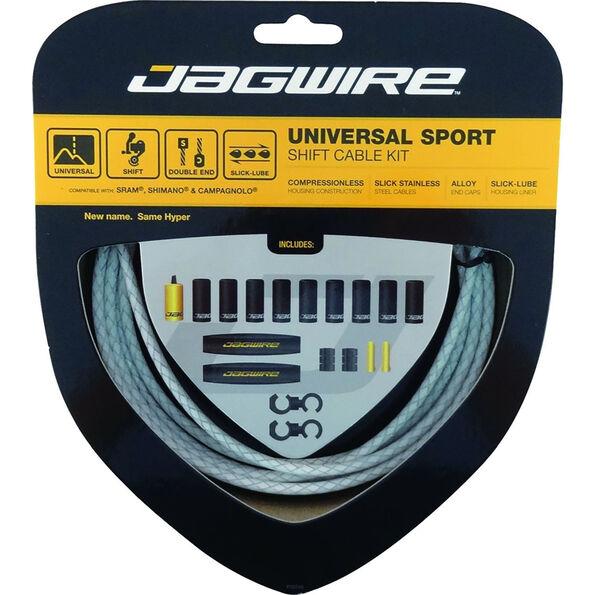 Jagwire Sport Universal Schaltzugset für Shimano/SRAM/Campagnolo geflochten
