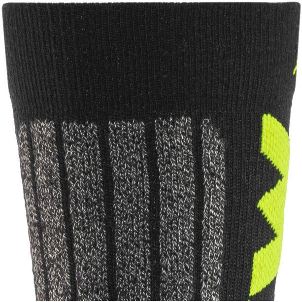 Northwave Husky Ceramic Tech 2 High Socks black/yellow fluo