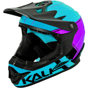 Kali Zoka Helm blau/lila/schwarz