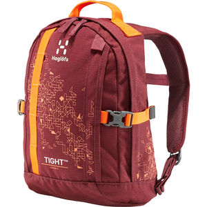 Haglöfs Tight Junior 8 Backpack Kinder aubergine/cayenne aubergine/cayenne