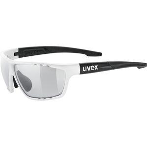 UVEX Sportstyle 706 V Sportglasses white matt black/smoke bei fahrrad.de Online