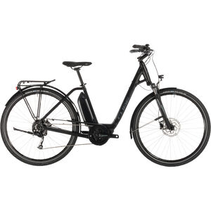 Cube Town Sport Hybrid ONE 500 Easy Entry Black'n'Grey bei fahrrad.de Online