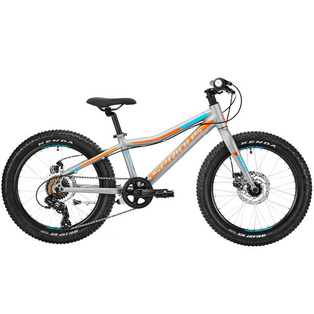 Serious Trailkid 20 Kinder grey