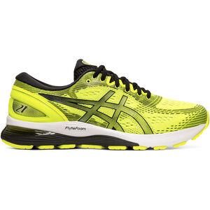 asics Gel-Nimbus 21 Shoes Herren safety yellow/black safety yellow/black