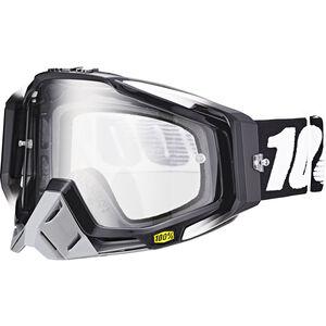 100% Racecraft Anti Fog Clear Goggles abyss black abyss black