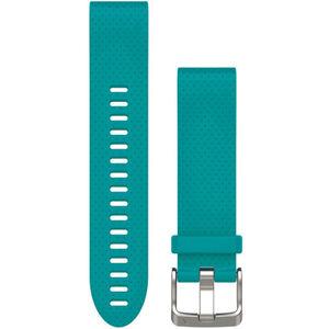 Garmin fenix 5S Silikonarmband QuickFit 20mm turquoise