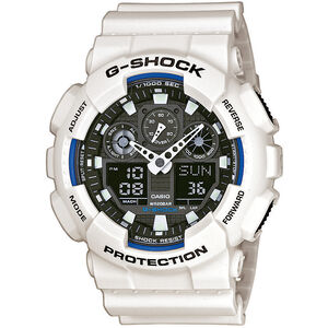CASIO G-SHOCK GA-100B-7AER Watch Men white/white/black white/white/black
