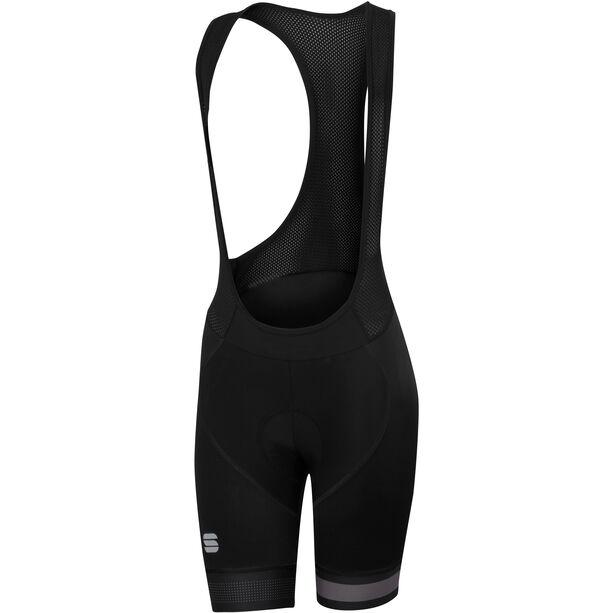 Sportful Bodyfit Pro Bib Shorts Damen black/anthracite black/anthracite