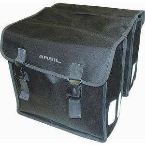 Basil Mara XL Gepäckträger Doppel-Tasche 35l schwarz