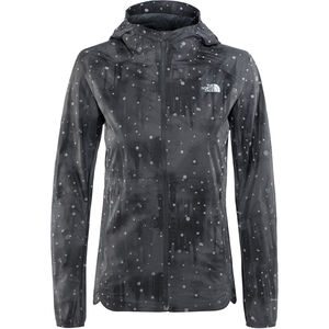 The North Face Stormy Trail Jacket Damen tnf black reflective firefly print tnf black reflective firefly print