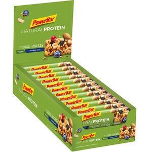 PowerBar Natural Protein Bar Box 24x40g Blueberry Nuts (Vegan)