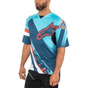 Alpinestars Racer Shortsleeve Jersey Men atoll blue/poseidon blue bei fahrrad.de Online