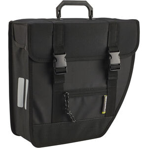 Basil Tour Single Side Bag 17l, right schwarz schwarz