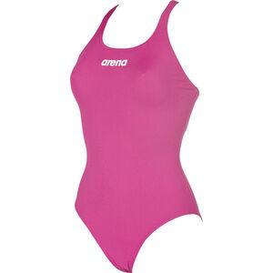 arena Solid Swim Pro One Piece Swimsuit Women fresia rose-white