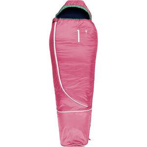 Grüezi-Bag Biopod Wool World Traveller Sleeping Bag Kinder claret red claret red