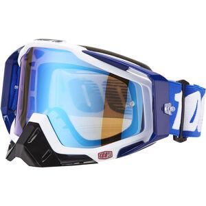100% Racecraft Anti Fog Mirror Goggles cobalt blue bei fahrrad.de Online