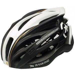 assos Jingo Helmet black matte/white & deco bei fahrrad.de Online