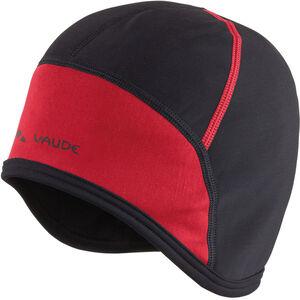 VAUDE Bike Cap black/red black/red