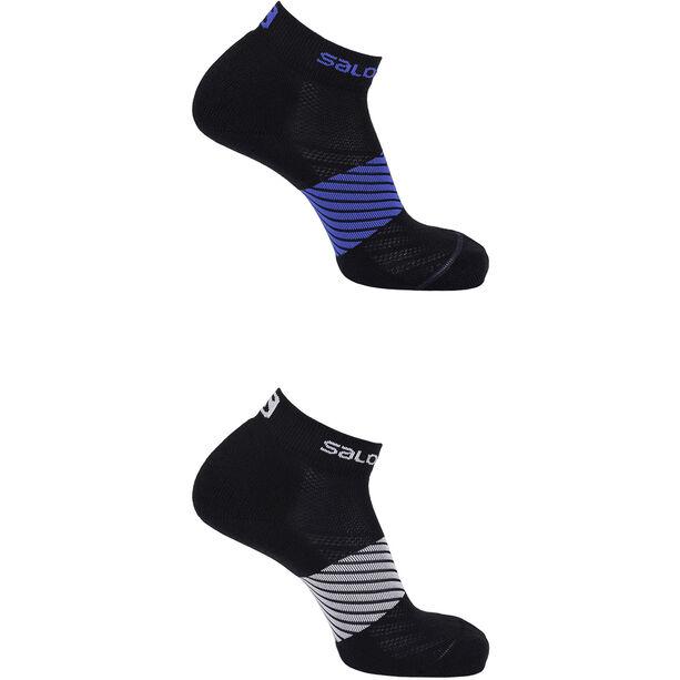 Salomon XA Socks 2 Pack night sky/black white