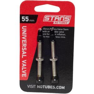 NoTubes Universal Ventil Presta Messing 55mm
