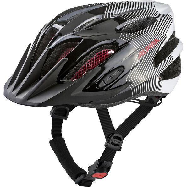 Alpina FB 2.0 Helmet black-white-red