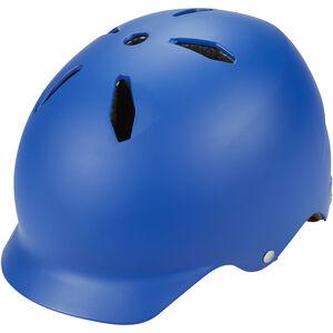 Bern Bandito EPS Helm Thin Shell Kinder matt-blau matt-blau