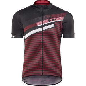 Craft Reel Graphic Jersey Herren black/bright red black/bright red