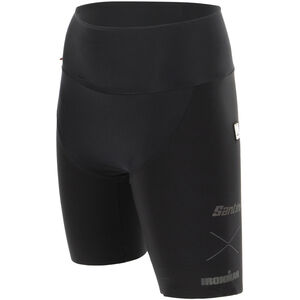 Santini Audax Aero Triathlon Shorts Damen black black