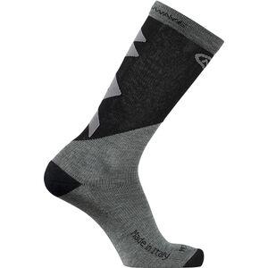 Northwave Extreme Pro High Socks Herren grey melange/black grey melange/black