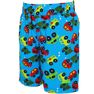 Zoggs Automania Water Shorts Jungs turquoise/multi turquoise/multi