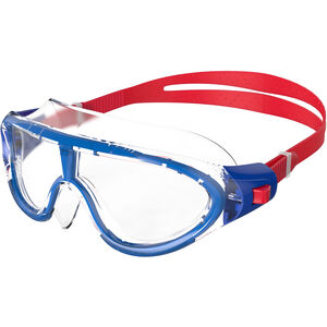 speedo Biofuse Rift Goggles Kinder red/clear red/clear