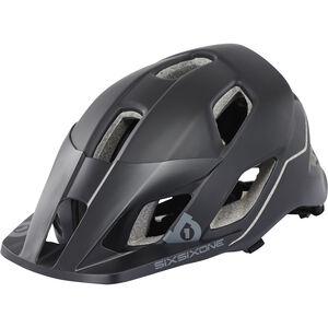 SixSixOne EVO AM Helmet black/grey black/grey