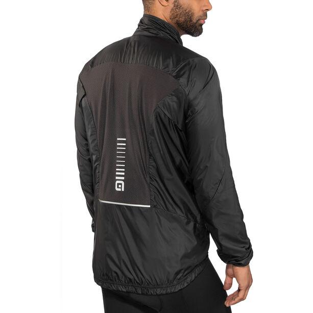 Alé Cycling Guscio Light Pack Jacket Herren black