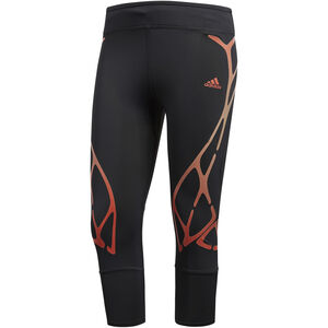 adidas AdiZero SW RC 3/4 Tights Damen carbon carbon