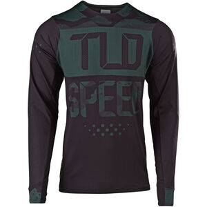 Troy Lee Designs Skyline Air LS Jersey Herren speedshop/stealth camo/black speedshop/stealth camo/black