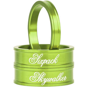 """Sixpack Skywalker Spacer 1 1/8"""" electric-green electric-green"""